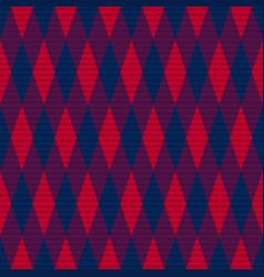 tartan seamless contrast rhombus texture vector image
