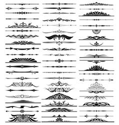 63 decorative design elements vector