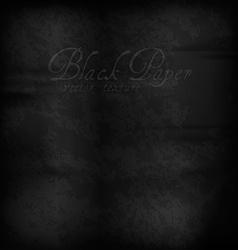 Black Paper vector image vector image
