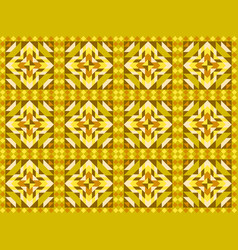 seamless mosaic pattern ornament tiles vector image vector image