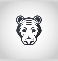 american black bear logo icon design vector image