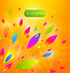 Bright Abstract Summer Background vector