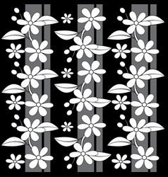 flower pattern image vector image