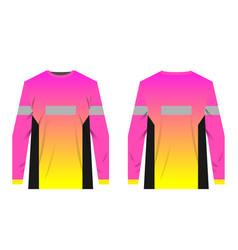 Jersey templates design vector