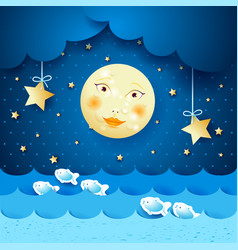 Moonlight vector
