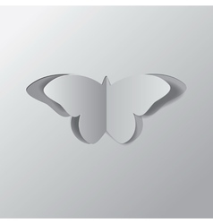 Paper butterfly2 vector image