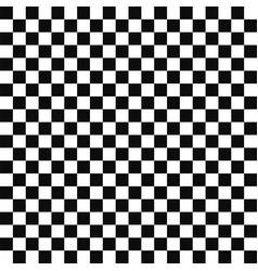 Seamless geometric pattern mosaic black vector