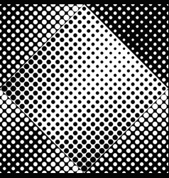 seamless geometrical black and white circle vector image