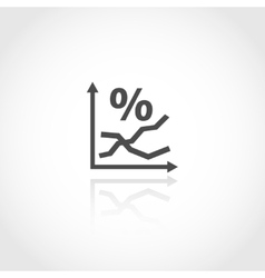 Stock market concept vector image