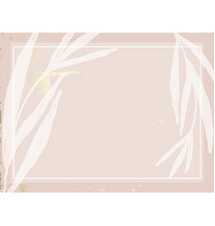 trendy chic nude pink gold blush background vector image