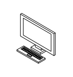 Line technology computer to social information vector