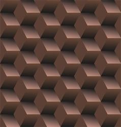 Old school seamless background diamond vector image vector image