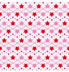 Star seamless texture vector image