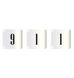 911 dice vector