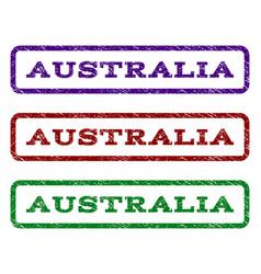 Australia watermark stamp vector