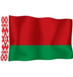 Belorussian flag vector