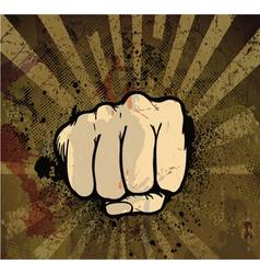 Grunge urban poster vector