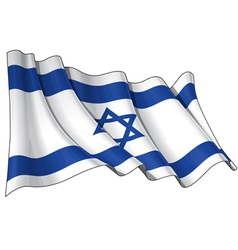 Israel Flag vector