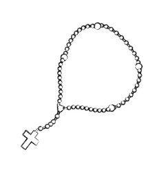 Rosary Sketch Vector Images 28