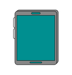 tablet pc technology vector image