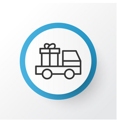 Truck surprise icon symbol premium quality vector