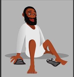Muslim religion shoes vector image vector image