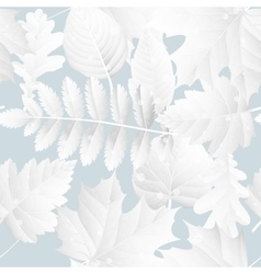 Fall Winter poster with leaves background EPS 10 vector image vector image
