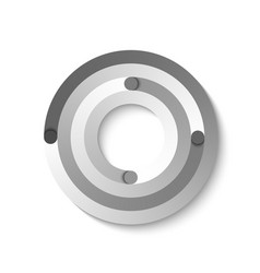 abstract circular element suitable for custom web vector image
