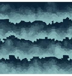 blue pixel waves backdrop vector image
