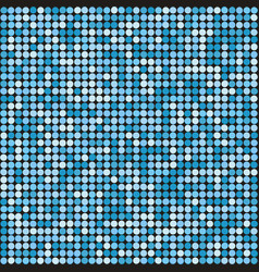 holiday seamless blue glittering disco background vector image