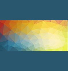 horizontal bright color background vector image