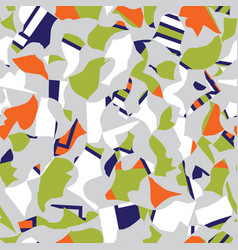 Modern seamless pattern design with colorful vector