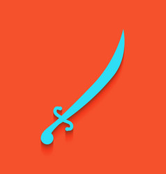 Sword sign whitish icon on vector