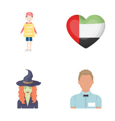Trade magic and other web icon in cartoon style vector