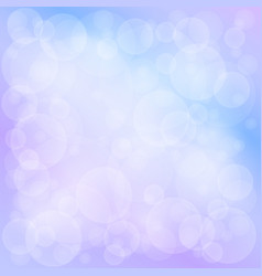 soft bright bokeh background vector image