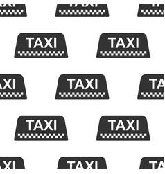 Taxi car roof sign icon seamless pattern vector