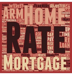 Are adjustable rate mortgages worth it text vector