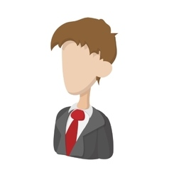 Businessman icon cartoon style vector image