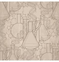 Genetic research pattern vector