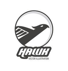 Haluk animal icon bird design graphic vector