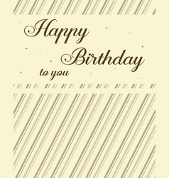 Happy birthday card design collection vector
