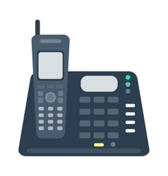Mobile phone office vector