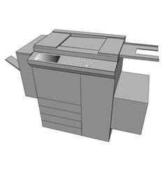 Print machine vector