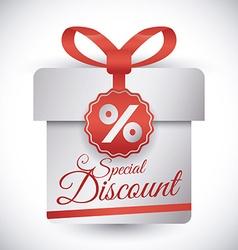 Shopping digital design vector image