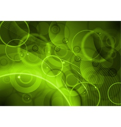 green abstract background with lines vector image vector image