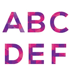 Modern Style Alphabets Set vector image vector image