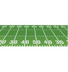 american football field vector image