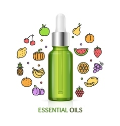 Aromatherapy Concept vector image