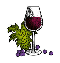 best wine cup icon vector image