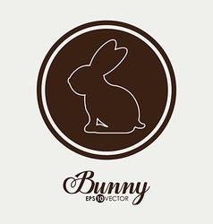 Bunny design vector